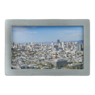 San Francisco Skyline Rectangular Belt Buckles