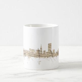 San Francisco Skyline Sheet Music Cityscape Coffee Mug