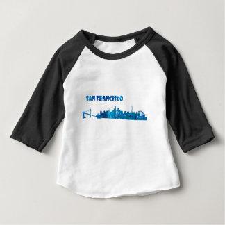 San Francisco Skyline Silhouette Baby T-Shirt