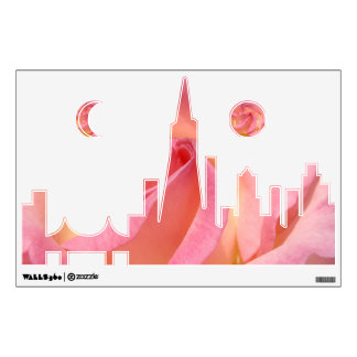 San Francisco Skyline wall decals California city