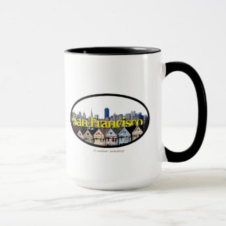 San Francisco Skyline with Dallas in the Sky Mug