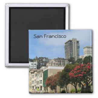 San Francisco Square Magnet