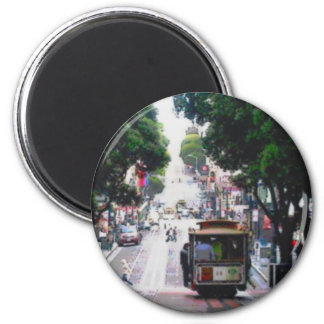 San Francisco Street Car Magnet