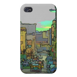 San Francisco Street iPhone 4 Cases