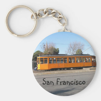 San Francisco Streetcar Keychain
