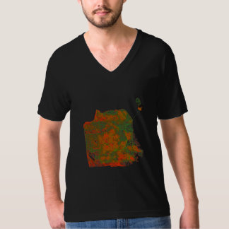 San Francisco Streets and Elevations T-Shirt