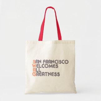 San Francisco Swag Retro Budget Tote Bag
