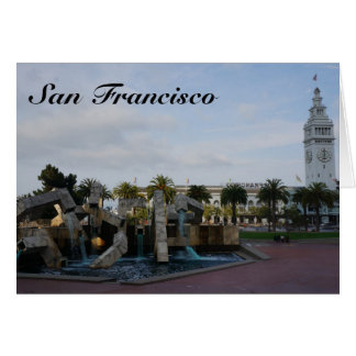 San Francisco The Embarcadero Card