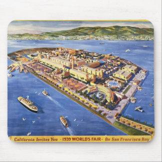San Francisco Treasure Island Mouse Pad