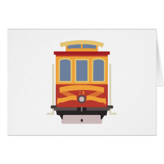 San Francisco Trolley Card