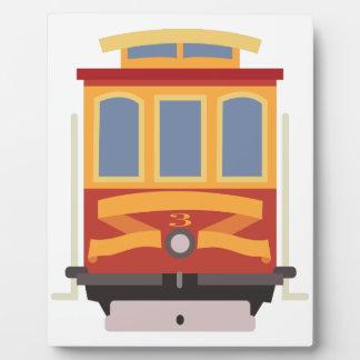 San Francisco Trolley Plaque