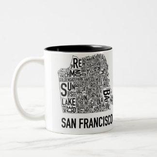 San Francisco Typo Mug