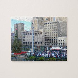 San Francisco Union Square #5 Jigsaw Puzzle