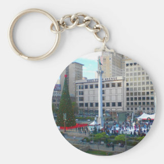 San Francisco Union Square #5 Keychain