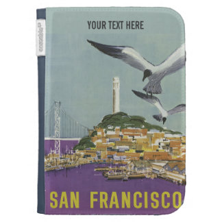 San Francisco USA Vintage Travel cases Case For The Kindle