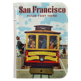 San Francisco USA Vintage Travel cases Kindle Keyboard Covers