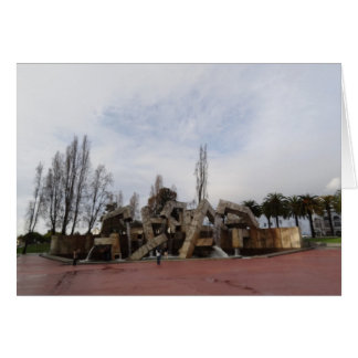 San Francisco Vaillancourt Fountain Greeting Card