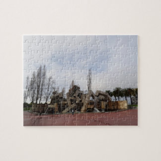 San Francisco Vaillancourt Fountain Jigsaw Puzzle