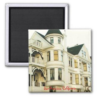 San Francisco Victorian House Magnet