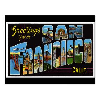 San Francisco Vintage Card