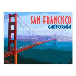 San Francisco Vintage Travel Postcard