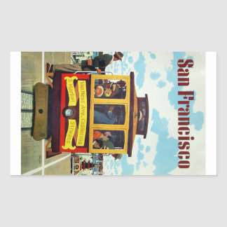 San Francisco Vintage Travel stickers