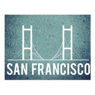 San Francisco Vintage Travel Tourism Add Postcard