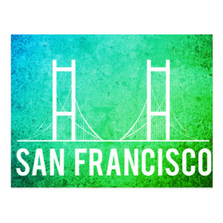San Francisco Vintage Travel Tourism Add Postcard