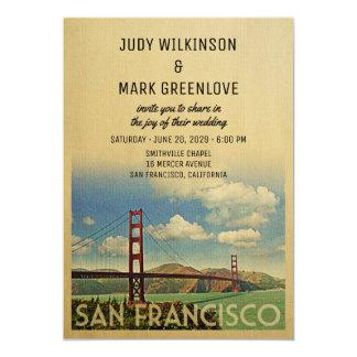 San Francisco Wedding Invitation Golden Gate