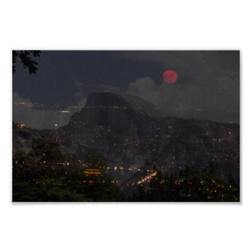San Francisco & Yosemite Collage Print