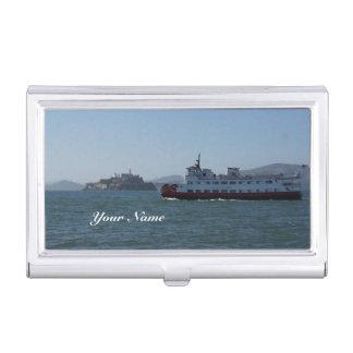 San Francisco Zalophus Ship Business Card Holder