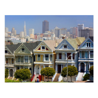 San Francisco's Famous Painted Ladies Postcard