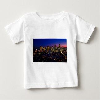 San Fransico Nighjt Skyline Baby T-Shirt