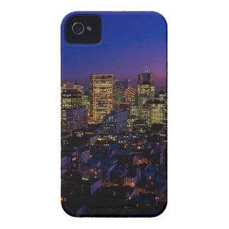 San Fransico Nighjt Skyline iPhone 4 Case