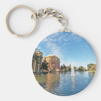 San Fransisco Palace of Fine Arts Basic Round Button Keychain