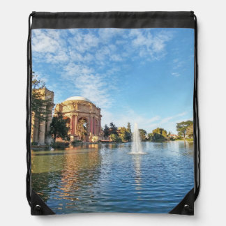 San Fransisco Palace of Fine Arts Drawstring Bag