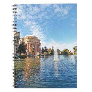 San Fransisco Palace of Fine Arts Notebook