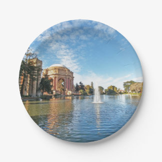 San Fransisco Palace of Fine Arts Paper Plate