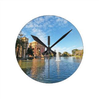 San Fransisco Palace of Fine Arts Round Clock