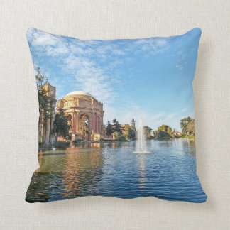 San Fransisco Palace of Fine Arts Throw Pillow
