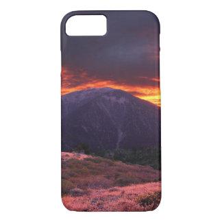 SAN GABRIEL MOUNTAIN SUNSET iPhone 7 CASE