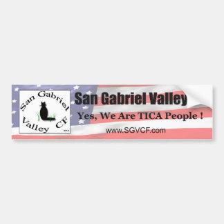 San Gabriel Valley CF (SGVCF) Bumper Sticker