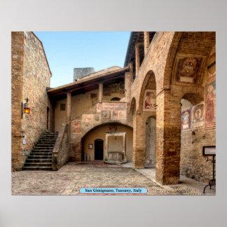 San Gimignano, Tuscany, Italy Poster