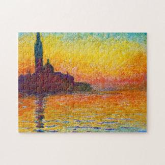 San Giorgio Maggiore at Dusk  Claude Monet Jigsaw Puzzle