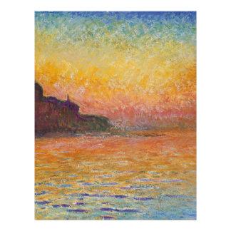 San Giorgio Maggiore at Dusk - Claude Monet Letterhead