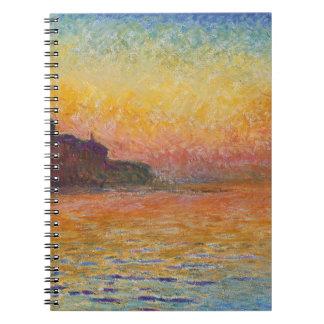 San Giorgio Maggiore at Dusk - Claude Monet Notebooks