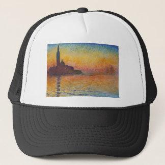 San Giorgio Maggiore at Dusk - Claude Monet Trucker Hat