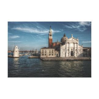 San Giorgio Maggiore Church Venice Italy Canvas Print
