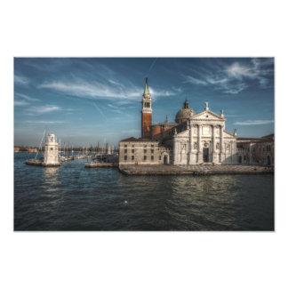 San Giorgio Maggiore Church Venice Italy Photo Print
