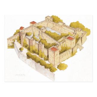 San Jorge castle. Lisboa Portugal Postcard